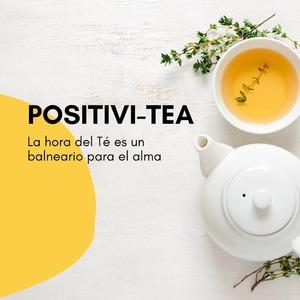 Que no nos falte ni el té ni el positivismo! Feliz martes! ✨