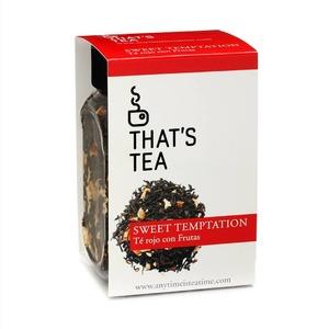 𝗧𝗲́ 𝗿𝗼𝗷𝗼 𝗰𝗼𝗻 𝗳𝗿𝘂𝘁𝗮𝘀.  🔊¡Disfruta hasta este domingo 7 de marzo de un10% de descuentoen nuestro té más sweet!🍭  CODIGO: QA5WDEBE  Siente el aroma de este té y entenderás lo que significa𝗱𝗲𝗷𝗮𝗿 𝘃𝗼𝗹𝗮𝗿 𝗹𝗮 𝗶𝗺𝗮𝗴𝗶𝗻𝗮𝗰𝗶𝗼́𝗻..💭  Conocido como el té de los Emperadores, el té rojo tiene propiedades depurativas y antioxidantes. Además es un quemagrasas natural.  📝𝗜𝗻𝗴𝗿𝗲𝗱𝗶𝗲𝗻𝘁𝗲𝘀:Té Rojo Pu-Erh, piel de naranja, fresa y aroma de vainilla.
