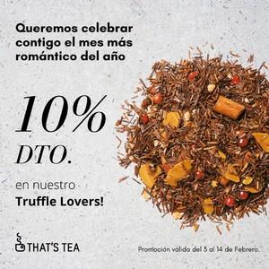 Activamos una promo que arranca hoy y estará disponible hasta el próximo 14 de febrero, por si eres de regalar amor... sorprende con el Truffle Lovers!
